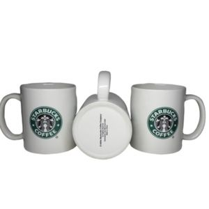 2004 Starbucks Classic Mermaid Dbl Sided Logo Mug